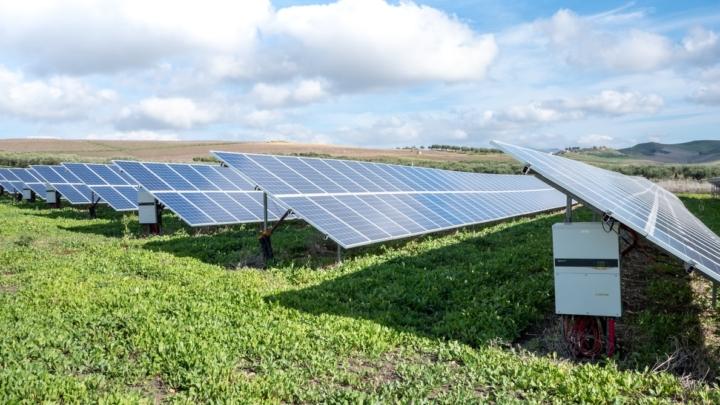 solenergiprojektör